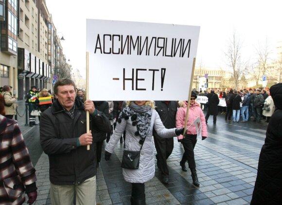 Lietuvos tautinės mažumos įvertino V. Putiną ir D. Grybauskaitę