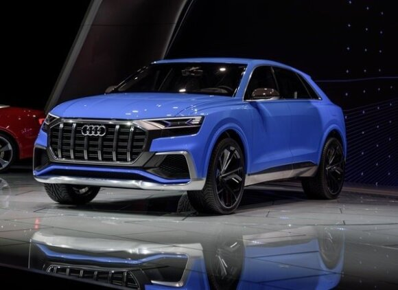 """Audi Q8"" parodoje"