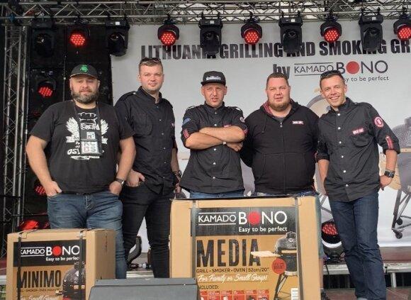 Tarptautinių BBQ varžybų šašlykų kategorijos nugalėtojų trejete – ir lietuvių komanda