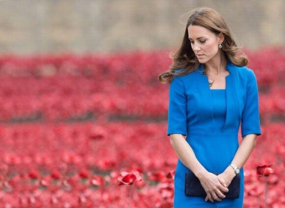 Po dviejų mėnesių tylos K.Middleton grįžta į viešumą