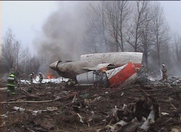 Government plane crash on Smolensk