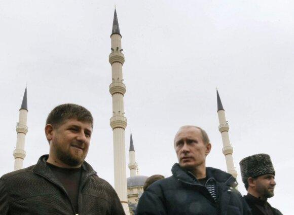 Ramzanas Kadyrovas, Vladimiras Putinas