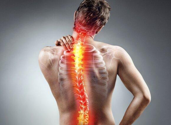 Specialistė: žinant šias priežastis lengviau pažaboti nugaros skausmą