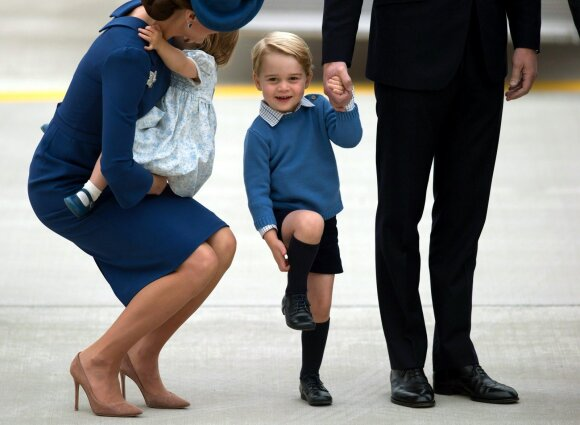 Kate Middleton ir princas George
