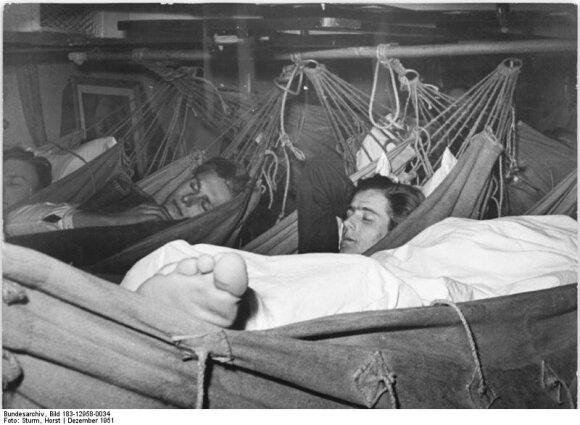 Vokiečių jūreiviai 1951-aisiais.