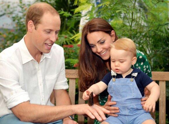 Pasaulis sveikina numylėtinį princą su gimtadieniu