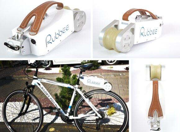 Elinta sukurta elektrinė dviračio pavara Rubbee
