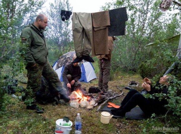 """Akimirka ir """"Žūklės dienoraščio""""ekspedicijos Švedijoje"""