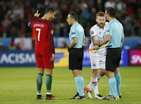 Euro 2016: Portugalija – Islandija