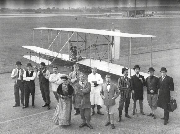 Brolių Wrightų lėktuvo kopija