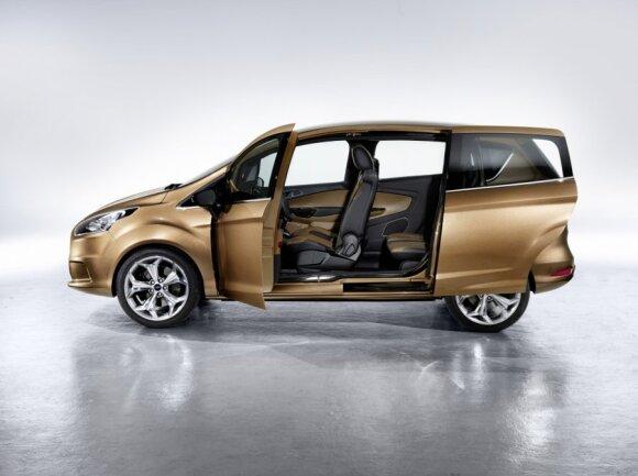 Ford B-Max koncepcija