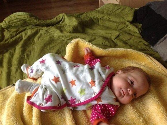 Sibilė gimė dviem mėnesiais anksčiau: ką išgyveno jos tėvai