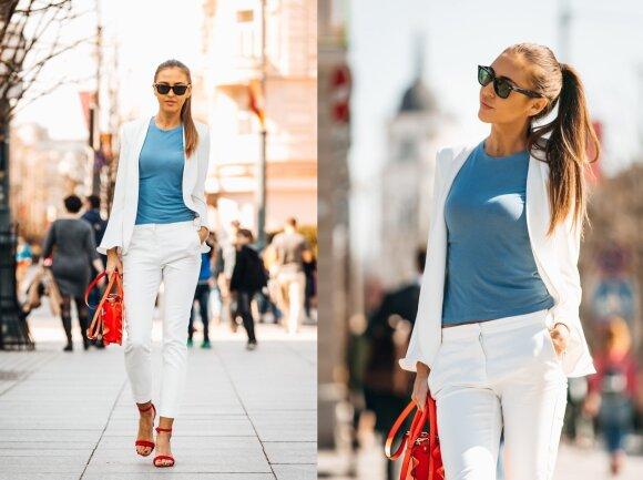 Pasitinkant pavasarį: stilingieji vilniečiai miesto centre