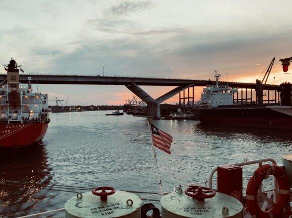 Jūreivystės praktikos akimirkos