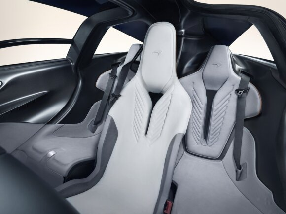 """McLaren Speedtail"" superautomobilis"