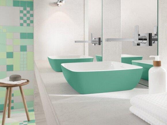 Vonios kambario dizaino tendencijos ir ateitis