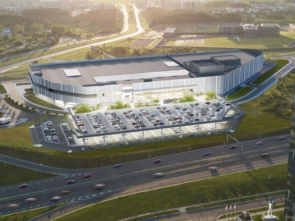 Naujas prekybos centras Pilaitėje