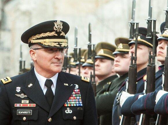Po vizito Lietuvoje NATO pajėgų vadas pateikė įspūdingą pageidavimų sąrašą