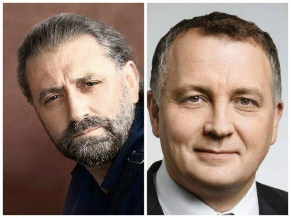 Rytis Mykolas Račkauskas, Maurikijus Grėbliūnas