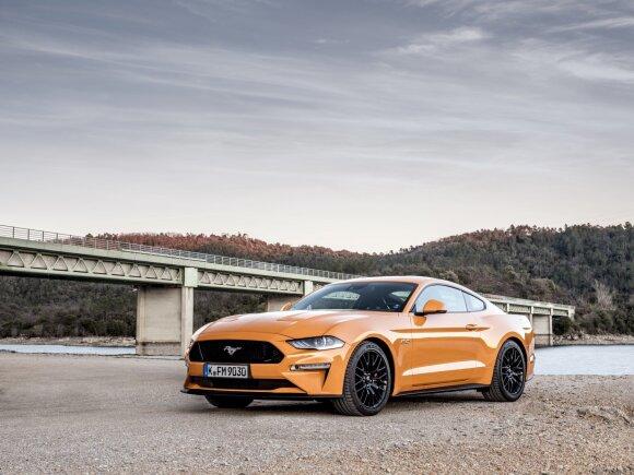 """Atnaujintas """"Mustangas"""" tapo geriau valdomas"""