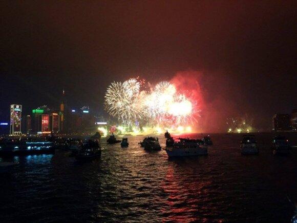 Naujuosius Honkonge sutikę lietuviai: žinokite, kokių nedaryti klaidų