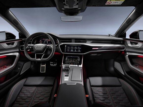 """Frankfurto automobilių parodoje pristatytas naujas """"Audi RS7"""""""