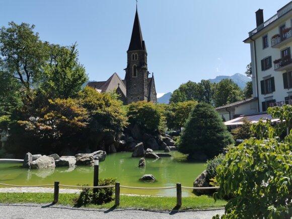 Interlaken. Šveicarija