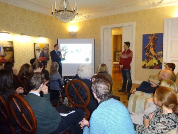 Lithuanian embassy in Stockholm holds discussion about historical memory
