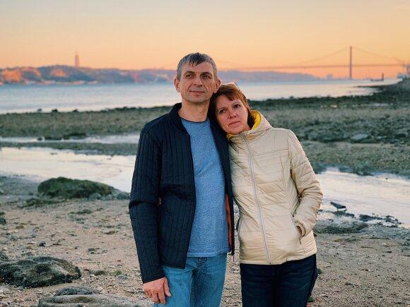 Loreta ir Vytautas Lisabonoje