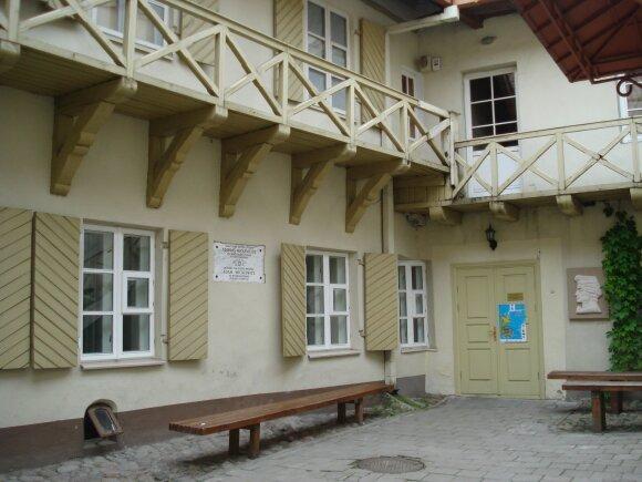 A. Mickevičiaus muziejaus kiemelis // Alma Pater nuotr.
