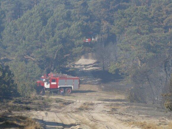 Šiuo metu miškuose bet kada gali kilti gaisras