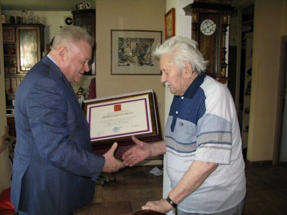 A.Udalcovas, D.Banionis. Foto - Rusijos ambasada Lietuvoje
