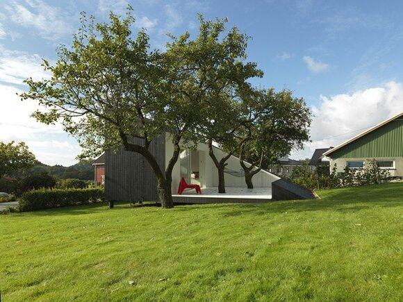 Norvego sukurtas namas nustebins net daug mačiusius