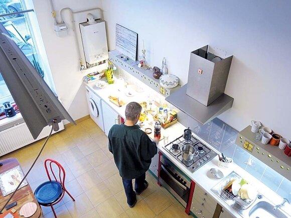 Nedidelėje virtuvėlėje verda gyvenimas