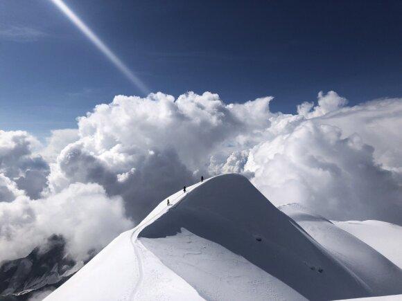 Kelionė į aukščiausią Europos viršukalnę - Monblaną