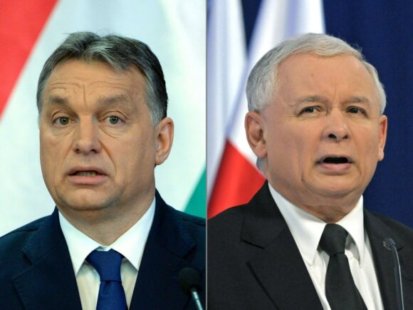 Viktor Orban, Jaroslaw Kaczynski