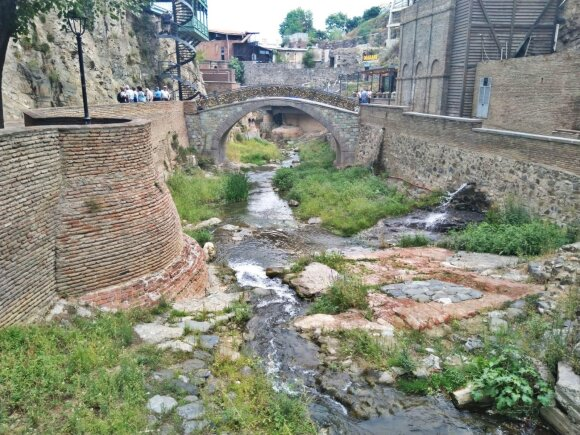 Gamtos ir civilizacijos darna Tbilisyje