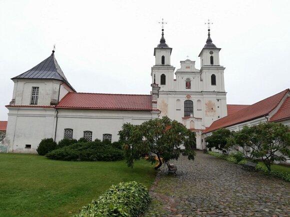 Tytuvėnų Švč. Mergelės Marijos bažnyčia ir bernardinų vienuolynas.