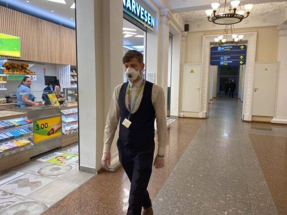 Vilniaus oro uostas; koronoviruso grėsmė