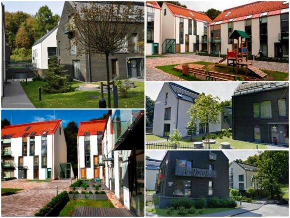 Krivių namai – gyvenamųjų namų kvartalas