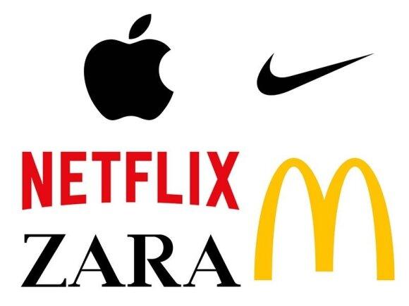 Grožio priemonės tobulam įmonės logotipui sukurti