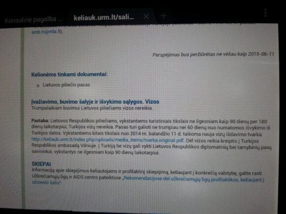 Planuotos atostogos Turkijoje ištuštino piniginę ir virto galvos skausmu