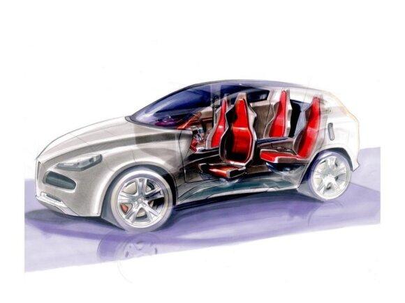 """""""Alfa Romeo"""" SUV konkuruos su BMW ir """"Audi"""""""