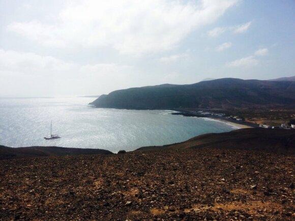 Keliautojas T. Kertenis: Fuerteventūrą vietiniai gyventojai prilygina Marso paviršiui