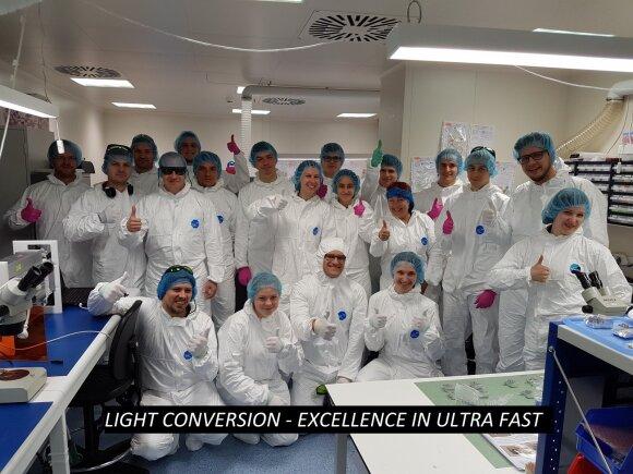 Pharos gamybos skyriaus komanda