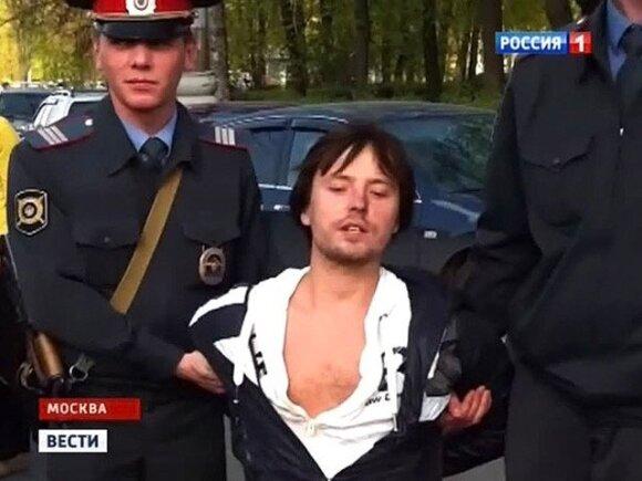 """Витас в суде полностью признал свою вину - ударил полицейского """"ногой по телу"""""""