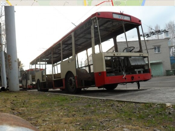 Vilniuje liks tik troleibusai