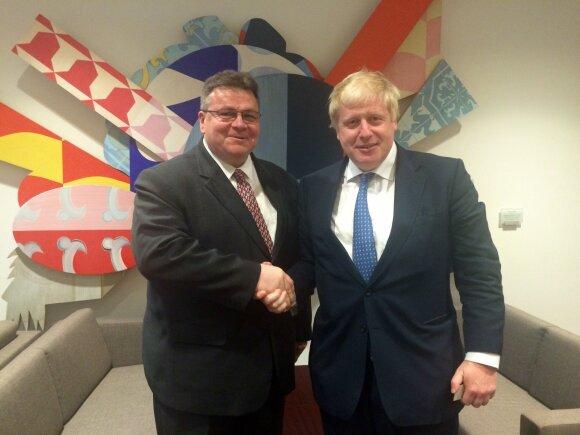 Linas Linkevičius, Boris Johnson
