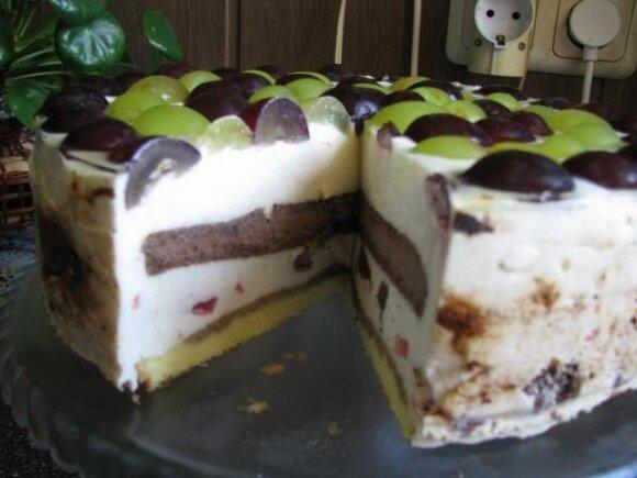 ŠVENTINIS maskarponės tortas