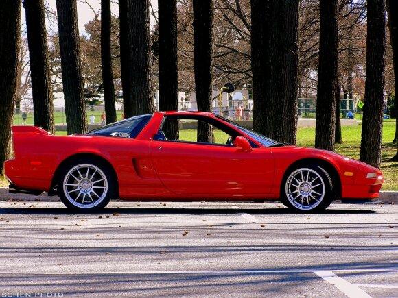Acura NSX. Schen Photography nuotr.